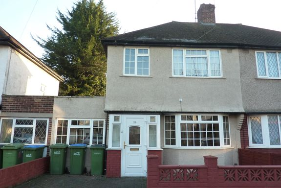 4 BED SEMI-DETACHED HOUSE FOR SALE ABBEYWOOD  £399.000